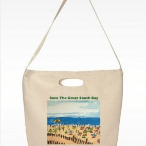 Image of Save The Great South Bay Jones Beach Tote Bag