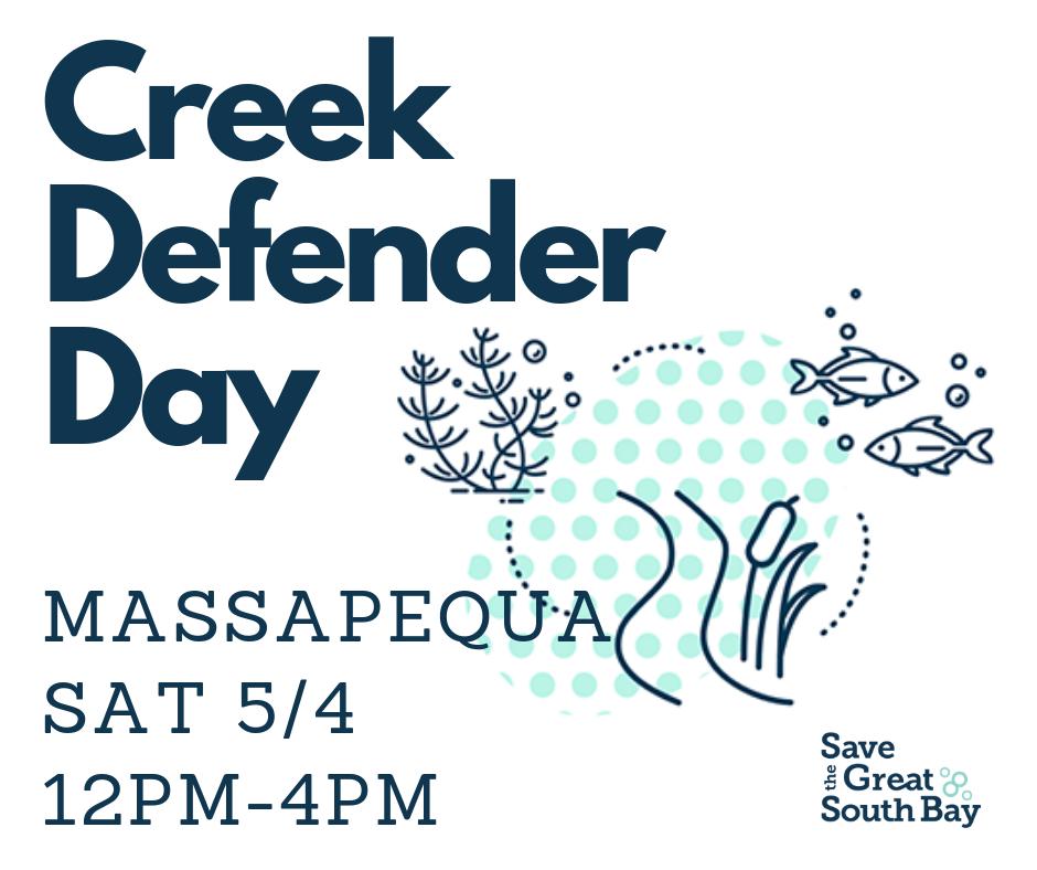 Massapequa Creek Defender Day