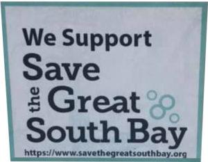 Save The Great South bay Sticker Program