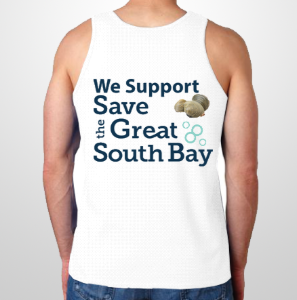Save The Great South Bay Tee Shirt - No Shoulders