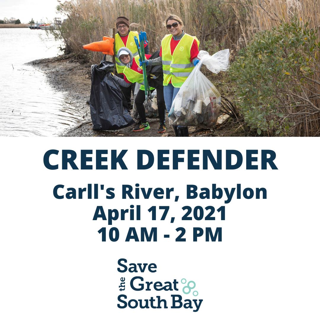 Creek Defender: Carll's River, Babylon