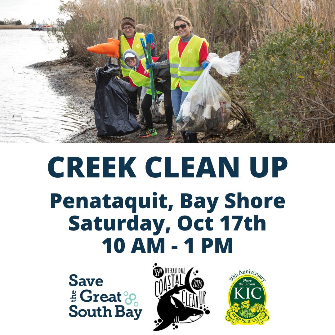 Bay Shore 35th Annual Coastal Clean Up