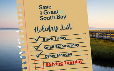 Help Save The Bay on GivingTuesday
