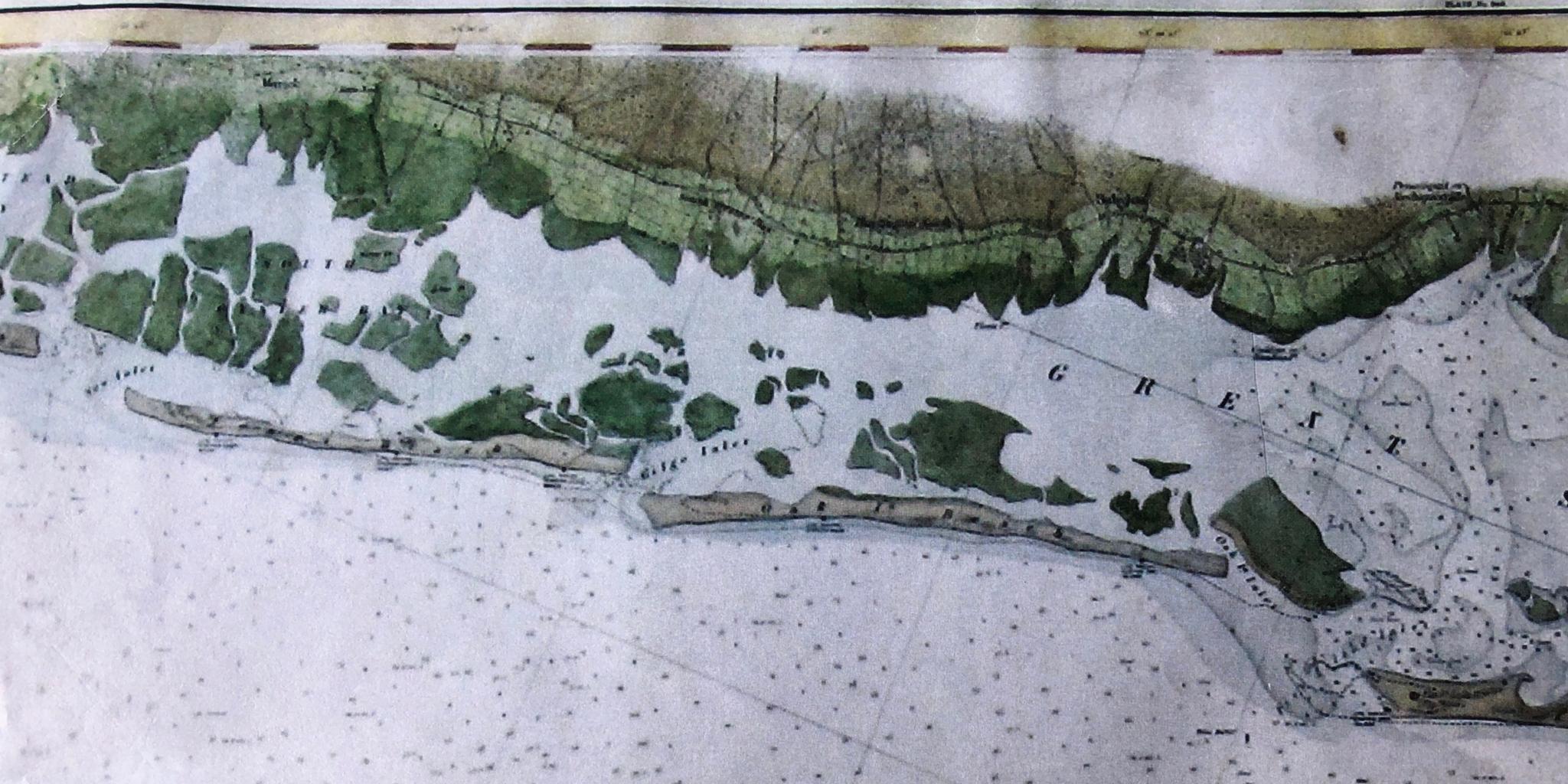 Gilgo Inlet Map