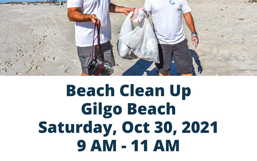 Beach Clean Up @ Gilgo Beach
